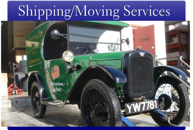 Shipping & Moving Services