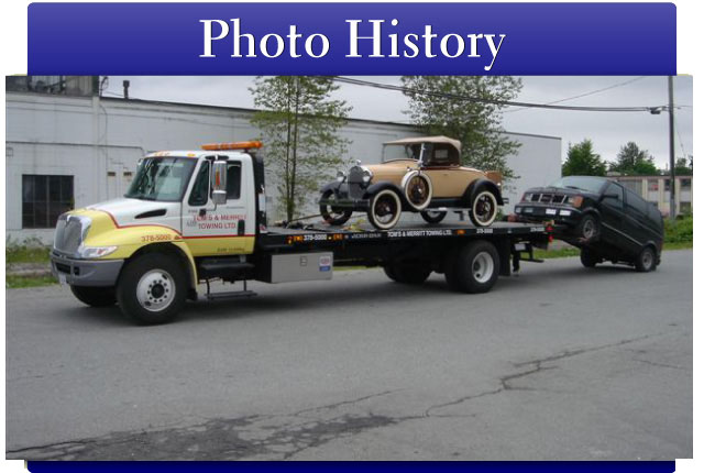 Unloading Ford Model A