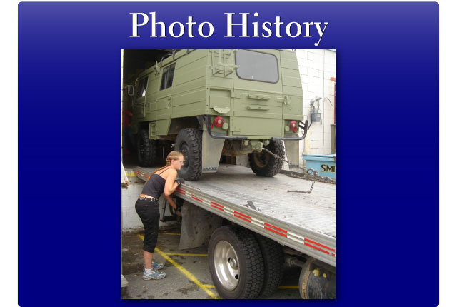 army truck loading